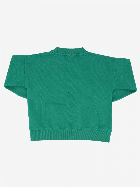 Bobo Choses sweatshirt with baby elephant green 2