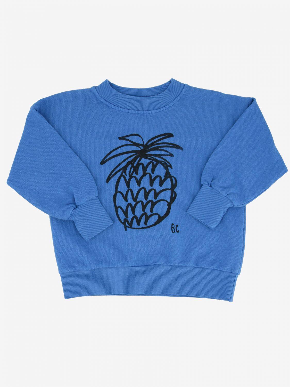 Bobo Choses sweatshirt with pineapple print blue 1
