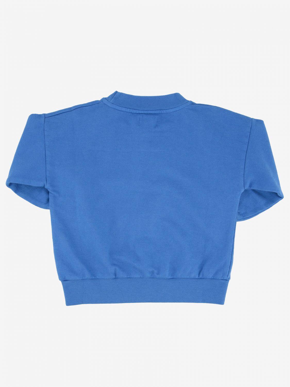 Bobo Choses sweatshirt with pineapple print blue 2