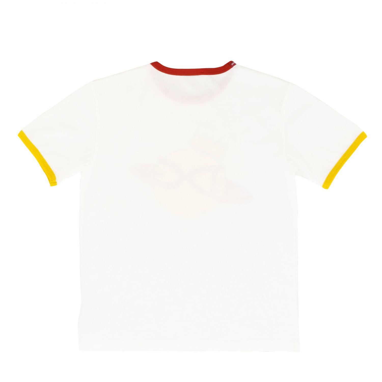 T-shirt Dolce & Gabbana: T-shirt Dolce & Gabbana a maniche corte con stampa DG bianco 2
