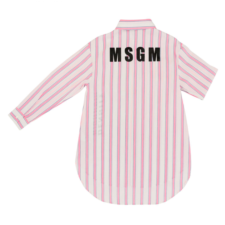 Dress kids Msgm Kids fuchsia 2