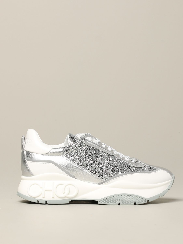 Спортивная обувь Jimmy Choo: Спортивная обувь Женское Jimmy Choo серебряный 1
