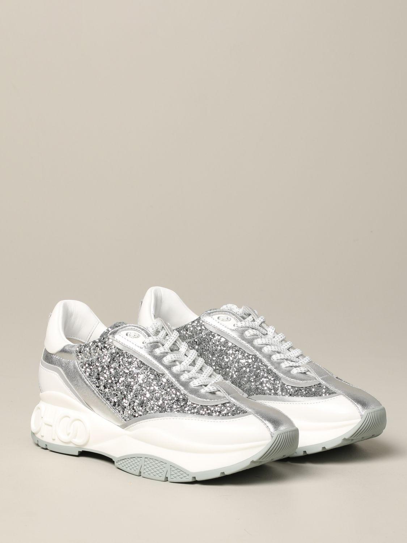 Спортивная обувь Jimmy Choo: Спортивная обувь Женское Jimmy Choo серебряный 2
