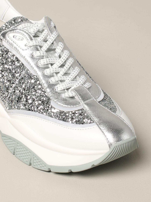 Спортивная обувь Jimmy Choo: Спортивная обувь Женское Jimmy Choo серебряный 4