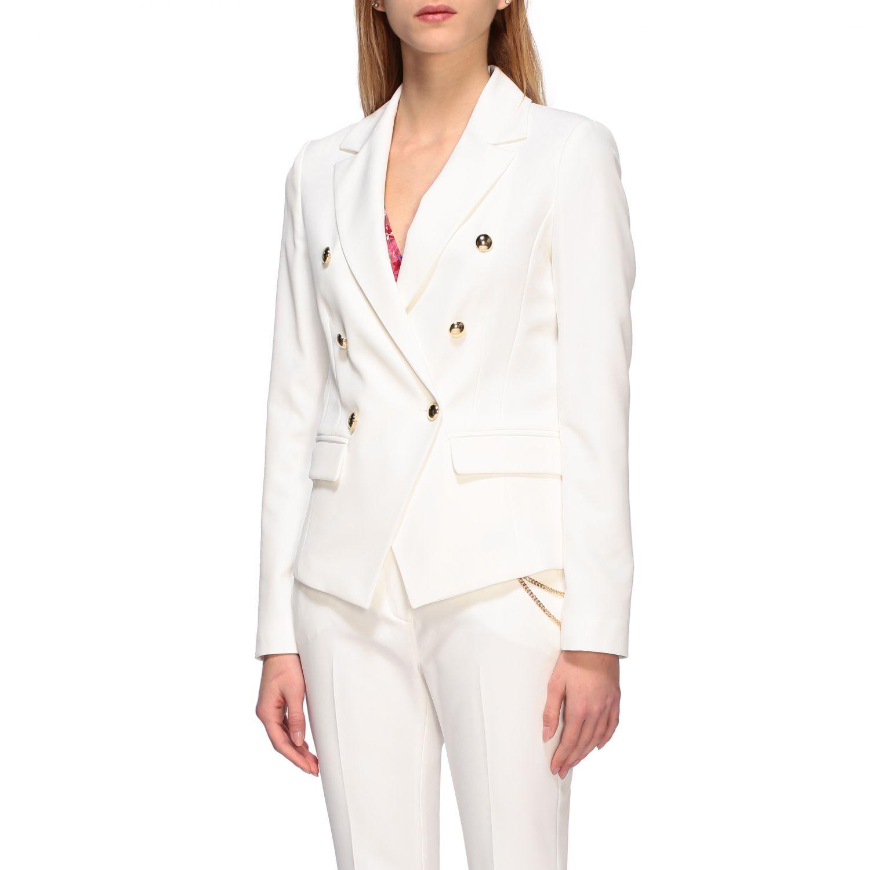 Jacket women Liu Jo white 4