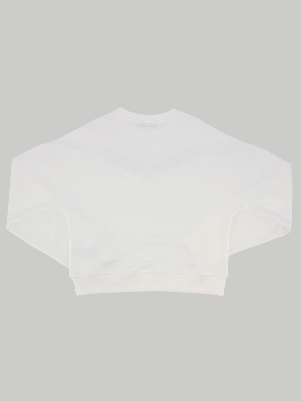毛衣 Alberta Ferretti Junior: Alberta Ferretti Junior 流苏装饰上衣 白色 2