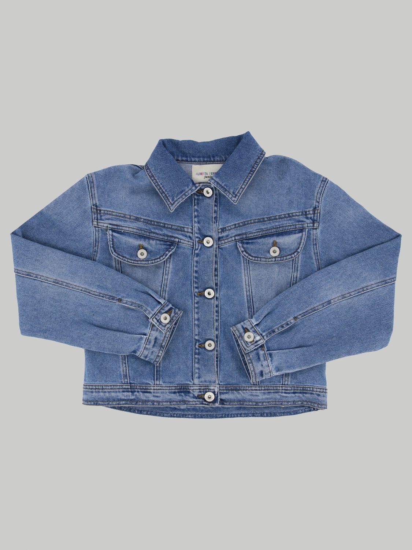 外套 Alberta Ferretti Junior: Alberta Ferretti Junior 牛仔外套 蓝色 1
