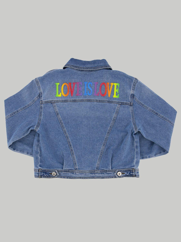 Куртка Alberta Ferretti Junior: Куртка Детское Alberta Ferretti Junior синий 2