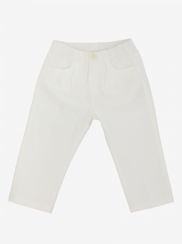 Il Gufo classic trousers white 1