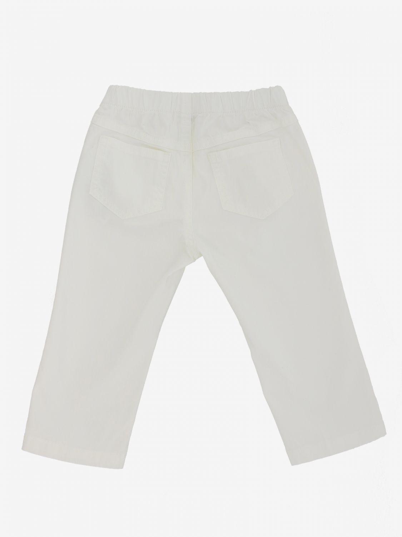 Il Gufo classic trousers white 2