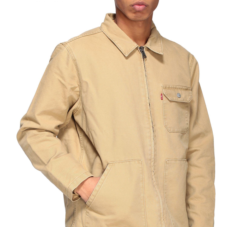 Куртка Мужское Levi's бежевый 5