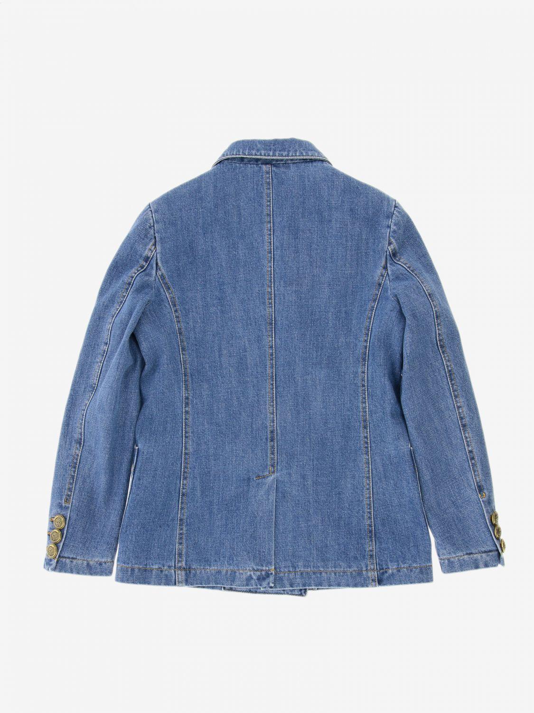 Jacket kids Philosophy Di Lorenzo Serafini denim 2