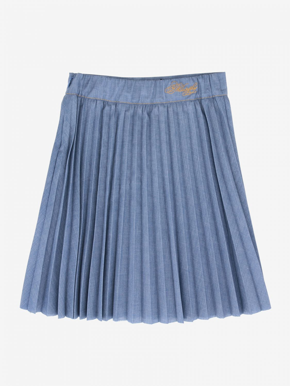Philosophy Di Lorenzo Serafini pleated skirt denim 2