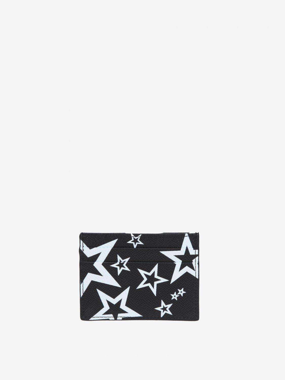 Portmonnaie Dolce & Gabbana: Dolce & Gabbana Brieftasche mit Prints all over schwarz 2