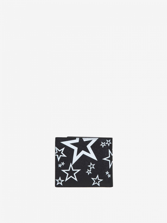 Portmonnaie Dolce & Gabbana: Dolce & Gabbana Brieftasche mit Prints all over schwarz 3