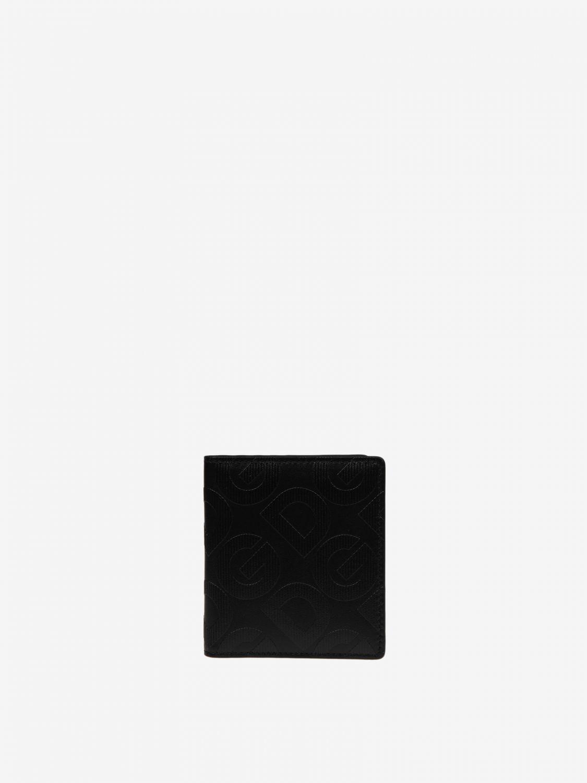 Portmonnaie Dolce & Gabbana: Dolce & Gabbana Geldbörse mit Logo schwarz 1