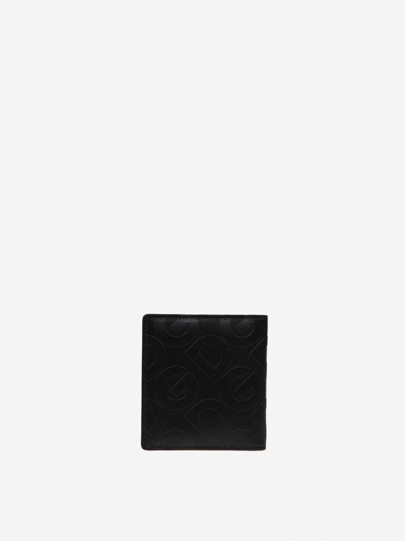 Portmonnaie Dolce & Gabbana: Dolce & Gabbana Geldbörse mit Logo schwarz 3