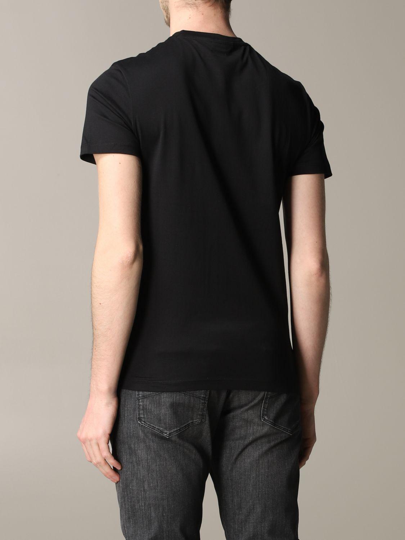 T-Shirt Emporio Armani: Emporio Armani T-Shirt mit Aufdruck und Logo schwarz 3