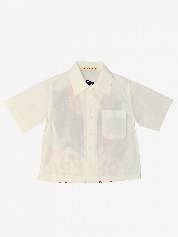 Shirt kids Marni multicolor 1