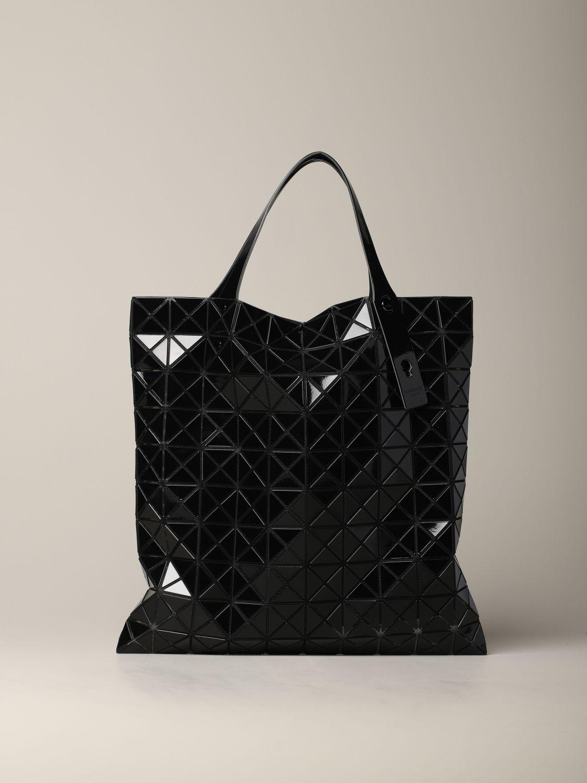 Sac Bao Bao Issey Miyake avec motif géométrique noir 1