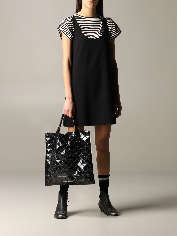 Sac Bao Bao Issey Miyake avec motif géométrique noir 2