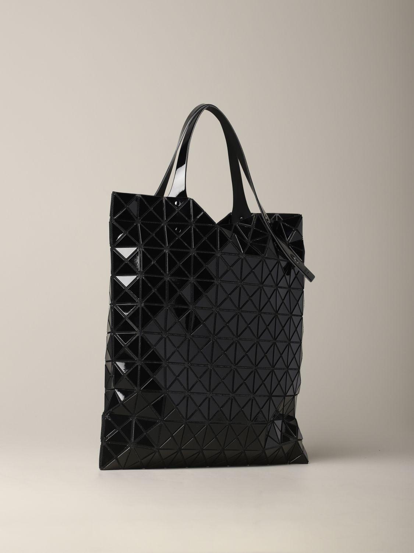 Sac Bao Bao Issey Miyake avec motif géométrique noir 3