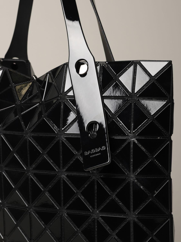 Sac Bao Bao Issey Miyake avec motif géométrique noir 4