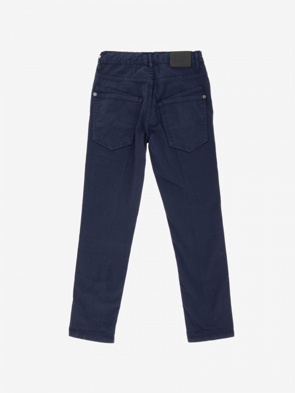 Pantalone Paciotti 4US in cotone a 5 tasche blue 2