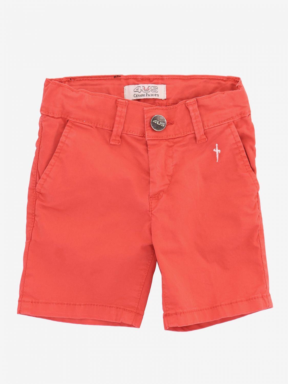 Pantaloncino Paciotti 4US con tasche america rosso 1