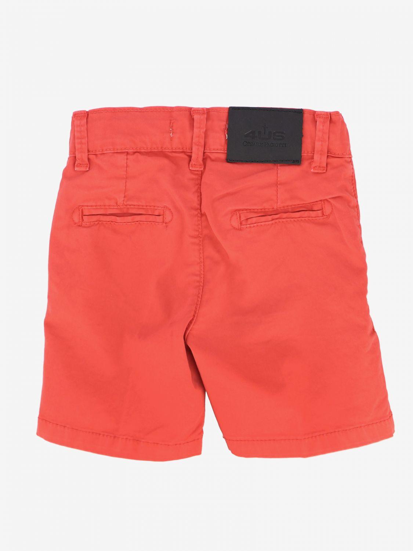Pantaloncino Paciotti 4US con tasche america rosso 2