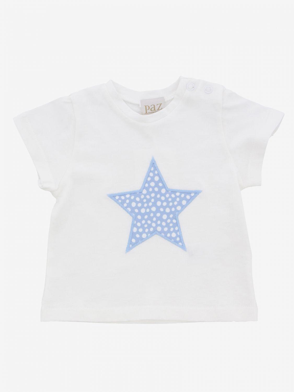 T-shirt Paz Rodriguez avec imprimé étoile blanc 1