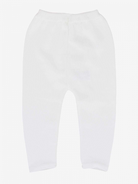Pantalon en maille Paz Rodriguez blanc 2