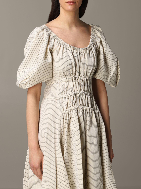 Dress women Eudon Choi beige 4