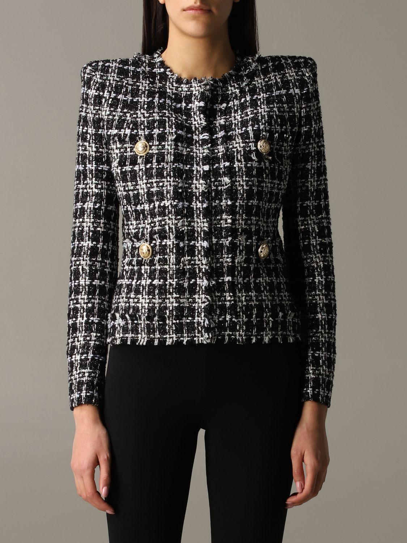 Blazer Balmain: Jacket women Balmain black 1