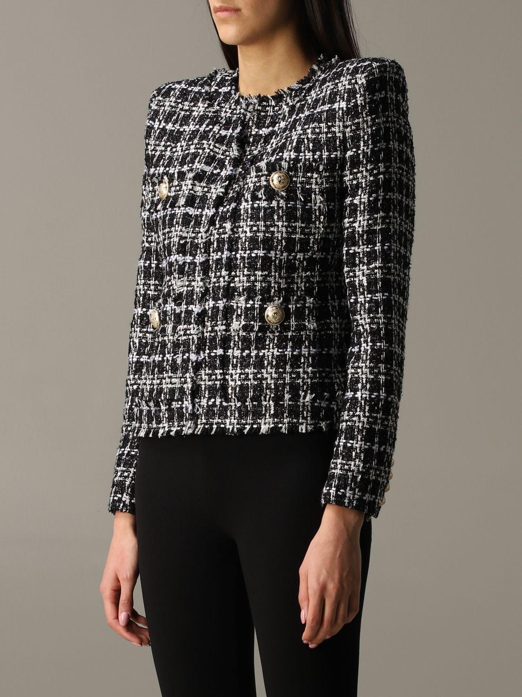 Blazer Balmain: Jacket women Balmain black 3