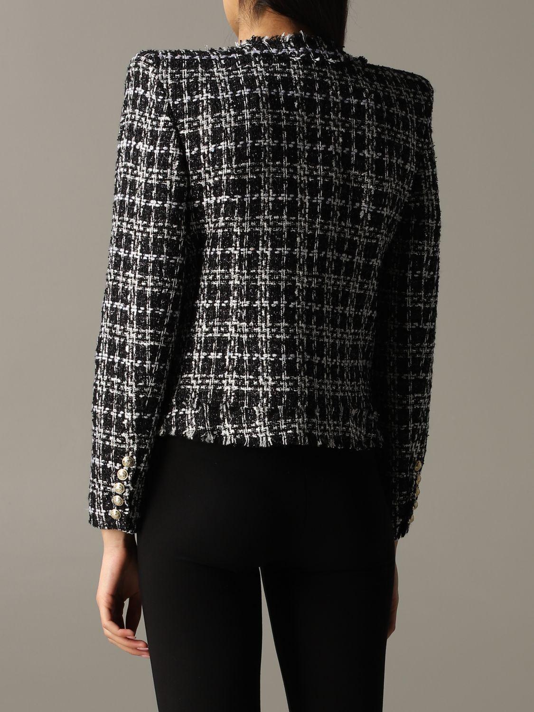 Blazer Balmain: Jacket women Balmain black 4