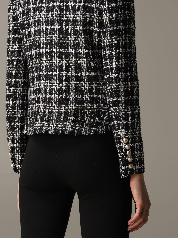 Blazer Balmain: Jacket women Balmain black 5