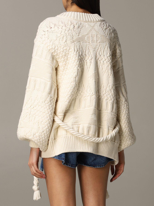 Sweater Alanui: Sweater women Alanui white 4