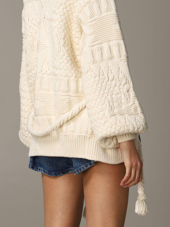 Sweater Alanui: Sweater women Alanui white 5