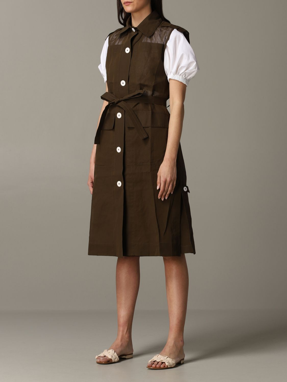 Trench coat women Eudon Choi brown 2