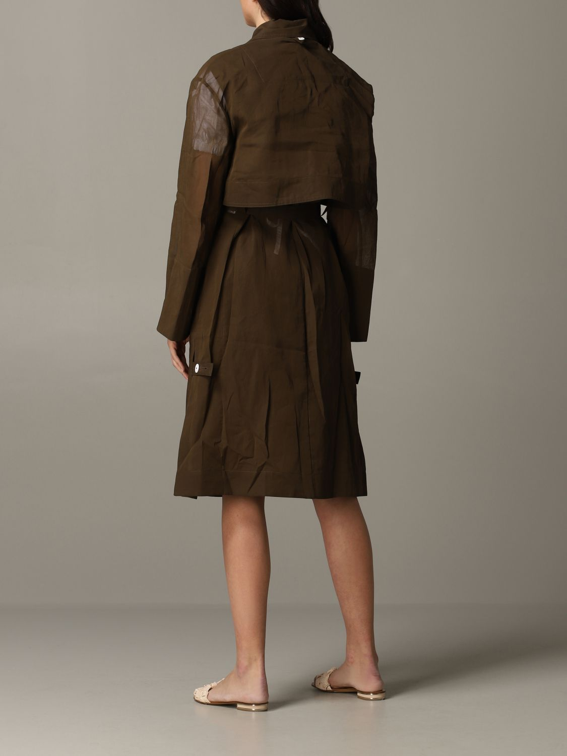 Trench coat women Eudon Choi brown 3