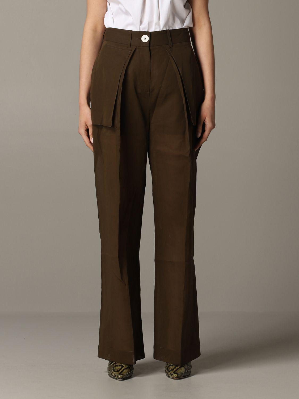 Skirt women Eudon Choi brown 1