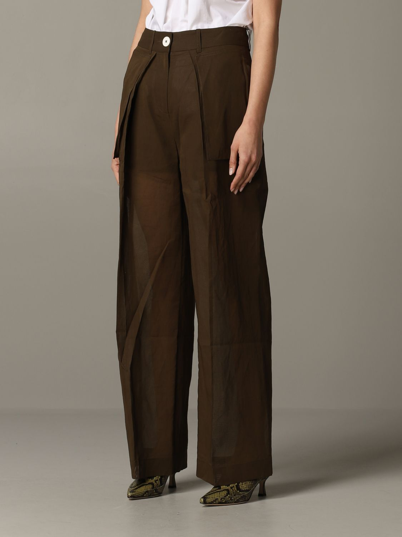 Skirt women Eudon Choi brown 3