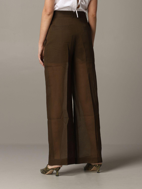 Skirt women Eudon Choi brown 4