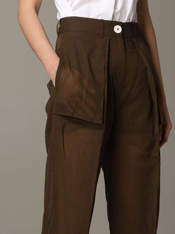 Skirt women Eudon Choi brown 5