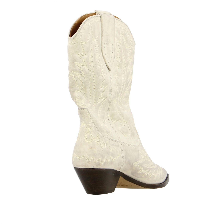 Bottes femme Isabel Marant blanc 4