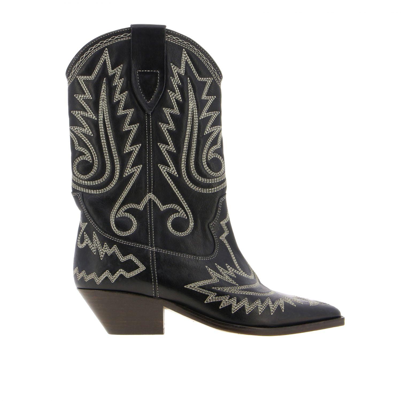 Boots women Isabel Marant black 1