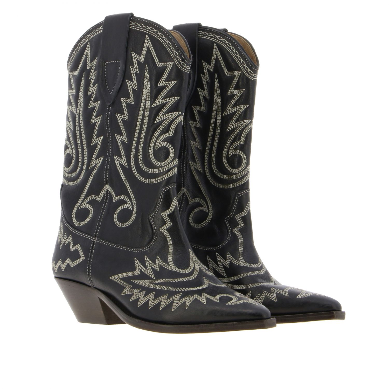 Boots women Isabel Marant black 2