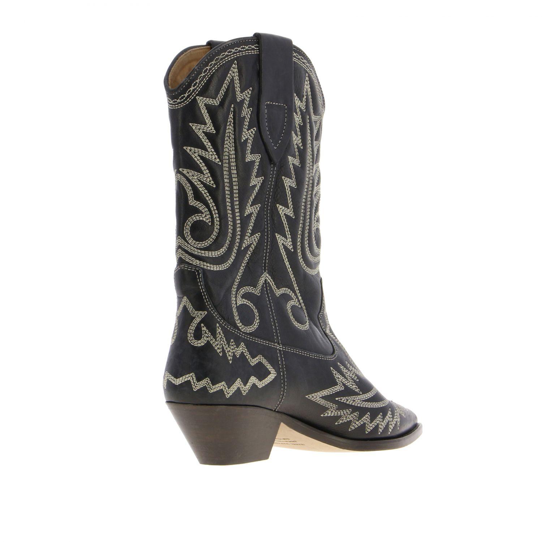 Boots women Isabel Marant black 5