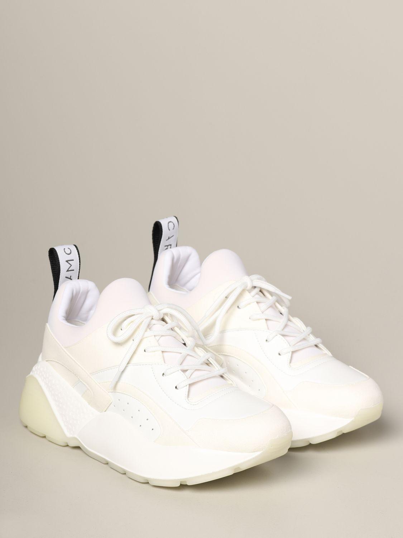 Sneakers Stella Mccartney in pelle con logo bianco 2